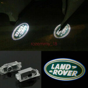 2X LED Logo door step courtesy laser projector light For Land Rover Range Rover