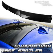 Carbon For SUBARU WRX STI 4th Saloon Rear Window V Roof Spoiler Wing 2016