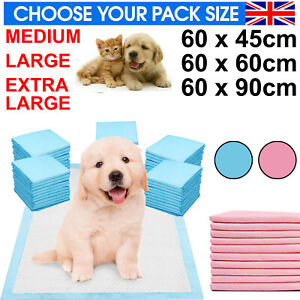 HEAVY DUTY LARGE PUPPY TRAINING PET PADS FLOOR WEE PEE TOILET PAD DOG CAT MATS
