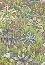 Anthropologie Lush Wildlife Singita Green Wallpaper-$498 MSRP