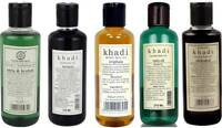 KHADI NATURAL HERBAL HAIR OIL 210 ML HERBAL AYURVEDIC HAIR OIL  CHOOSE FROM 5