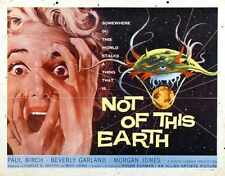 Pas de cette terre Poster 02 métal signe A4 12x8 aluminium
