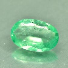 !! Nice 1.62 Carat 100%Natural 10.7x7.1x3.6 MM Oval Shape Colombian Emerald !!
