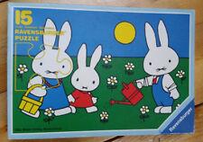 1984 Children's 15 Piece Puzzle Ravensburger Bunnies