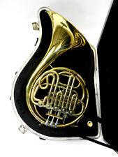 Waldhorn Waldhörner French horn in F/B Meister Hans Hoyer used DR17-422