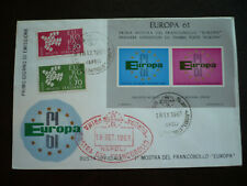 Postal History - Europa - Italy -Scott# 845 & 846 - First Day Cover