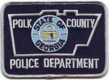 POLK COUNTY GEORGIA GA POLICE PATCH