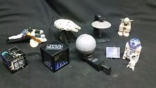 LOT OF 8 STAR WARS TRILOGY 1996 SPECIAL EDITION TACO BELL KID'S MEAL TOYS