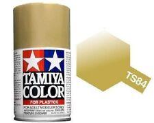 Tamiya TS-84 METALLIC GOLD Spray Paint Can 3 oz 100ml Mid America Raceway