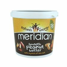 Meridian Natural Smooth Peanut Butter 1kg With a Pinch of Salt 1kg