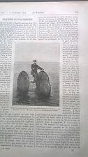 1890 911 la nature / Fahrrad Tretboot /