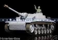 HengLong 1/16 German Stug III RTR RC Tank Plastic Ver BB Shooting Smog 3868-1
