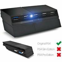 Hub USB 5 puertos para extensor de consola de juegos Sony PS4 Playstation