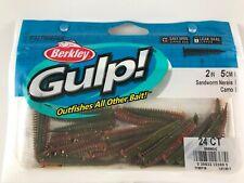 "Berkley Gulp! Saltwater Fishing 2"" Sandworm Camo"
