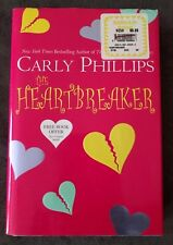 The Heartbreaker (2003, Hardcover) by Carly Phillips - Very good condition!