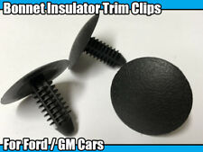 10x Bonnet Hood Insulation Retainer Trim Clips For Ford Fiesta Escort KA Focus