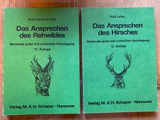2 x Das Ansprechen des Hirsches | Das ansprechen des Rehwildes