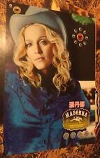 Madonna 2000 Music Taiwan Limited Edition Promo Poster