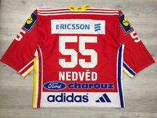 HC Sparta Praha Jaroslav Nedved #55 Ice Hockey Vintage Rare Jersey Shirt