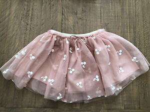 New baby Girls Toddler Ex H/&M Print Summer pink White Skirt  1-8 Years BNWT