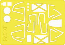 EDUARD JX026 Masking Sheet for Trumpeter® Kit P-38 in 1:32