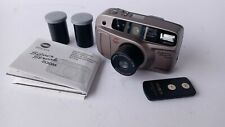Minolta Silver Streak zoom 35mm Point & Shoot film Camera W/ 2 pack film 1i