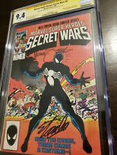 Secret Wars 8 CGC 9.4 signed by Mike Zeck and Stan Lee!!! A must have!!