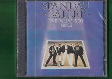 SPANDAU BALLET - THE TWELVE INCH MIXES CD NUOVO SIGILLATO