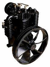5 Hp Or 75 Hp Air Compressor Pump Two Stage 175 Psi Cast Iron 2 Cylinder Pump
