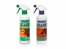 Nikwax Tent & Gear Solar Wash & Proof 500ml SPRAY-ON UV Cleaning & Waterproofing