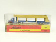 Schuco 1/90 Piccolo - Autotransporter - Camion Porta Auto