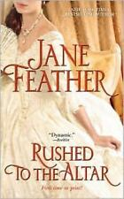 * Rushed to the Altar by Jane Feather V-GOOD PB COMBINE&SAVE