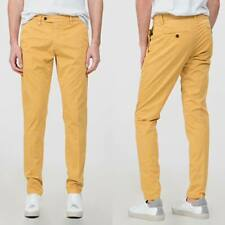 Pantaloni skinny uomo ANTONY MORATO pantalone uomo giallo skinny trousers nuovo