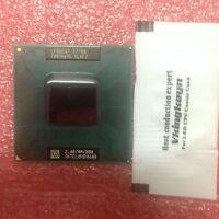 Intel Core 2 Duo T7700 2,4 GHz 800MHz Dual-Core Socket P Mobile CPU Prozessor