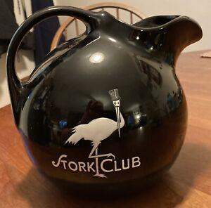 The Stork Club Halls's #633 Black Water Pitcher