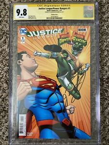Justice League/Power Rangers #1 CGC SS 9.8 Signed By Jason David Frank