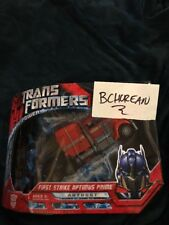 Transformers 2007 Movie Voyager Class First Strike Optimus Prime G1 Deco