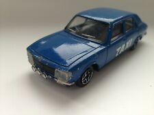Solido Peugeot 504 Taxi in Blau Blue France  1:43