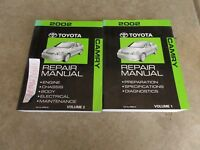 2002 Toyota Camry Repair Service Manuals Manual OEM