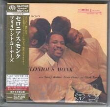Sealed THELONIOUS MONK Brilliant Corners JAPAN DSD SHM-SACD UCGO9022 OBI+CARD PS