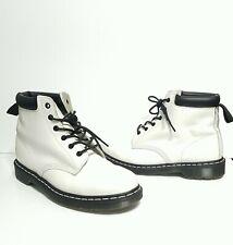 Dr Martens 939 Leather Boots Combat 6-Eye Men's US 11 UK 10 EUR 45 White