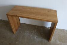 Waschtisch Eiche Wild Massiv Holz Sitzhocker NEU Stuhl Sitzbank Tisch Esstisch !