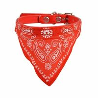 Hot Best Adjustable Pet Dog Puppy Cat Neck Scarf Bandana with Collar Neckerchief