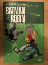 Batman And Robin Must Die 3 Deluxe Hardback HC HB DC graphic Grant Morrison