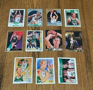 Lot of Larry Bird basketball cards