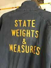 Vintage Lee blue jean ? Union-Alls Coveralls jumpsuit Nj State Weight & Measures