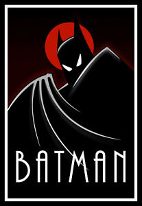 Batman Movie Poster Print & Unframed Canvas Prints
