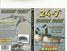 Zink:Calls-24-7 Cluckin Crazy-Goose Hunting-Fred Zink-2 Hour-Bird:Goose-DVD