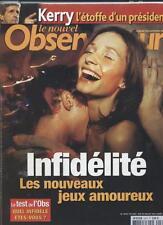 Le Nouvel Observateur   N°2073   29 Juillet 2004: Infidelité