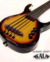 Kala UBASS-SUB4FS-BRST Sunburst SUB Solid Body ukulele bass